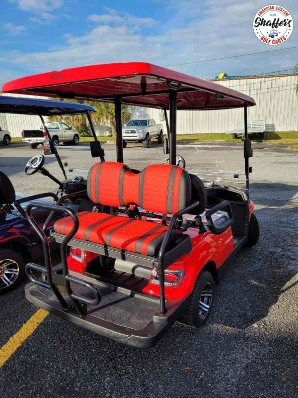 2020 RED ICON i40 4 passenger Golf Cart