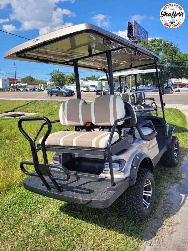 2021 Champagne ICON i40L Lifted Golf Cart