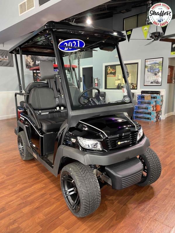 2021 Bintelli Beyond Black 4pr Golf Cart