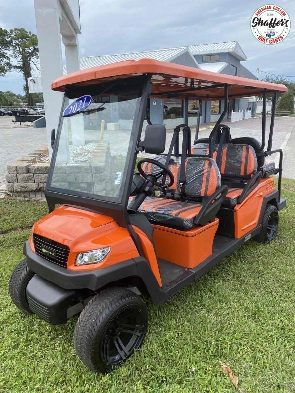2021 Bintelli Beyond Orange 6pr Golf Cart