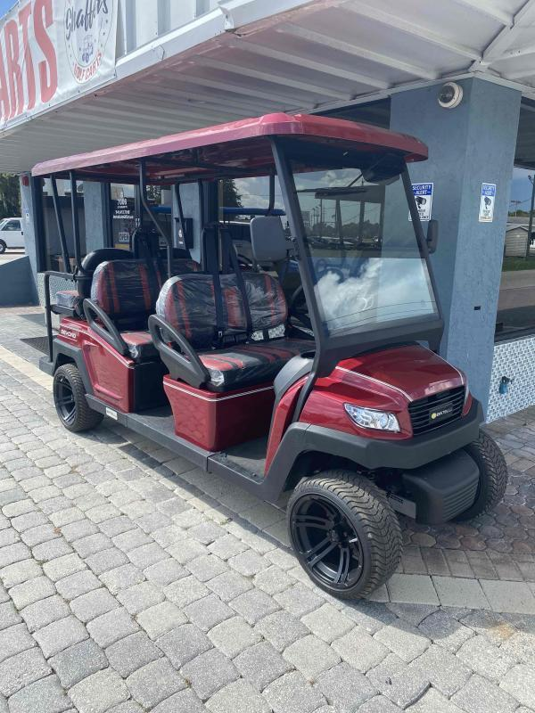 2021 Bintelli Beyond Burgundy 6pr Golf Cart