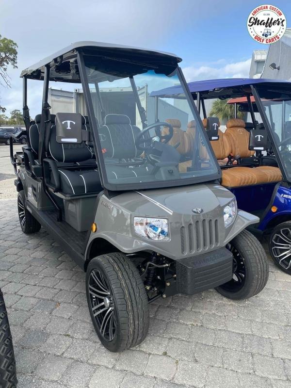 2021 Tomberlin LIFTED E-Merge E4 SS Saloon 6 passenger LSV Golf Cart