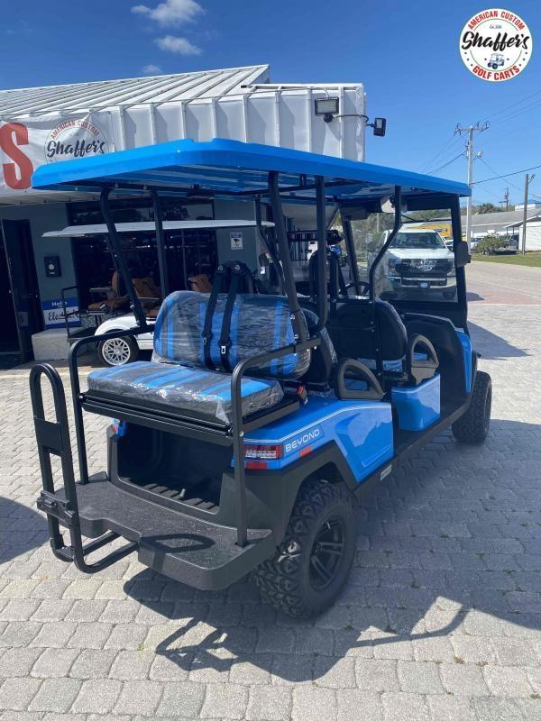 2021 Bintelli Beyond OCEAN BLUE LIFTED 6pr Golf Cart