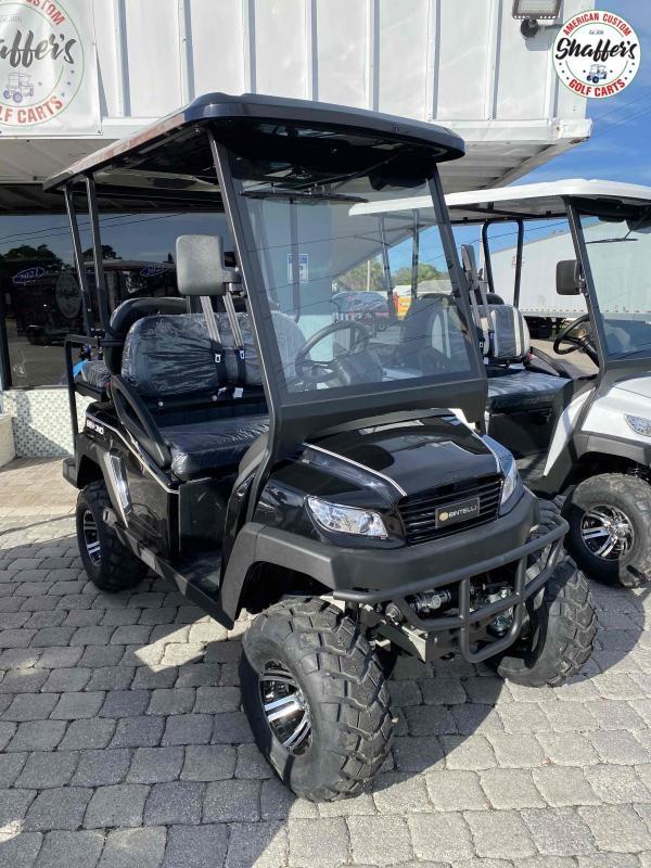 2021 Bintelli Beyond 4pr Black LIFTED Golf Cart