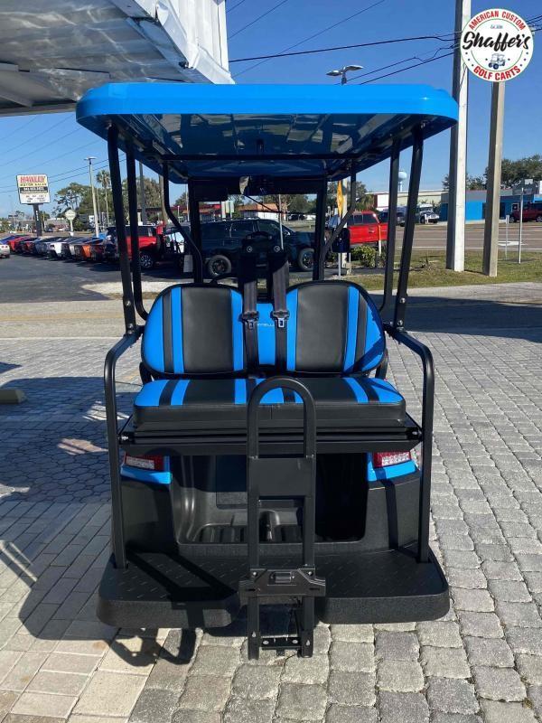 2021 Ocean Blue Bintelli Beyond 6pr LSV Golf Cart