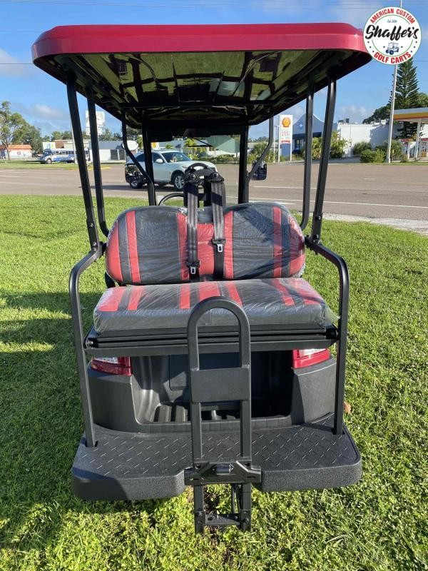 2021 Bintelli Beyond BURGUNDY LIFTED 6pr LSV Golf Cart