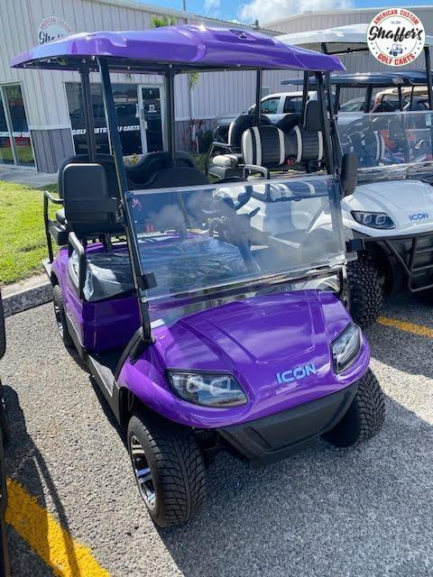 2020 ICON i40 4 passenger Golf Cart