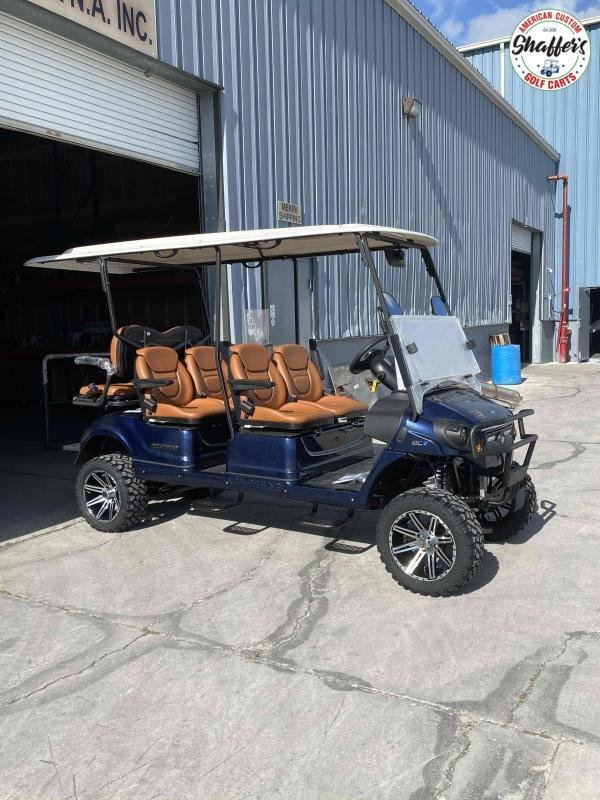 2021 PILOT CAR PC4 LIFTED 6 Passenger Street Ready Golf Cart Golf Cart