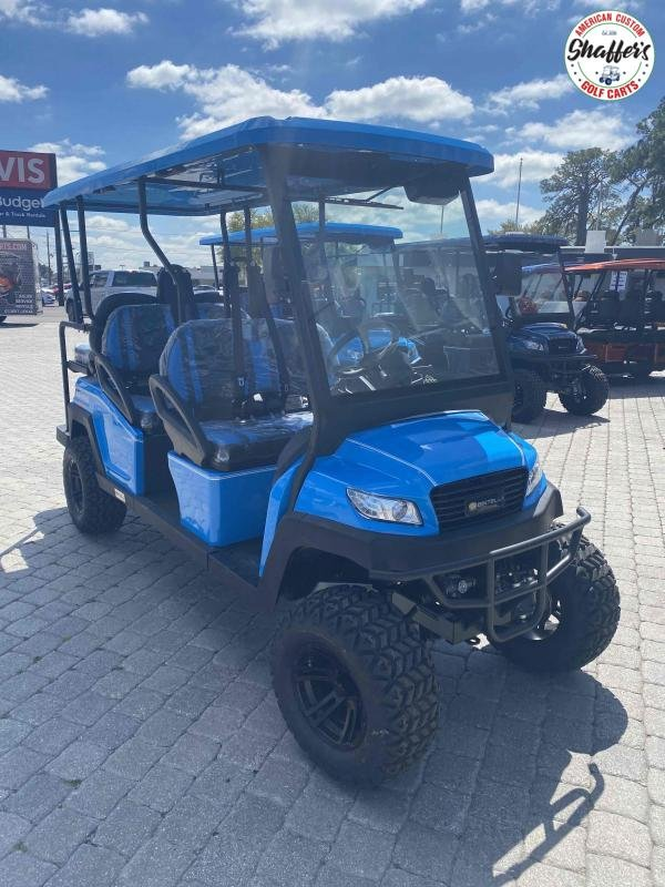 2021 Bintelli Beyond OCEAN BLUE LIFTED 6pr Golf Cart