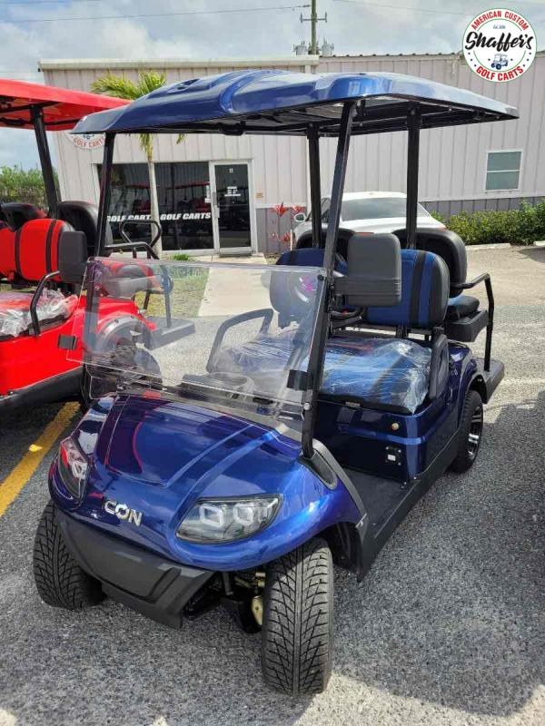 2021 ICON i40 4 passenger Golf Cart
