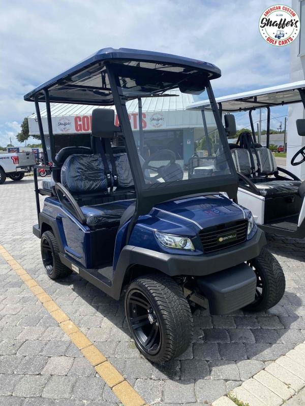 2021 Bintelli Beyond  Navy Blue 4pr Golf Cart