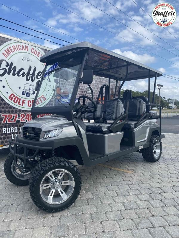 2021 Bintelli Beyond CUSTOM TITANIUM LIFTED 6pr Golf Cart