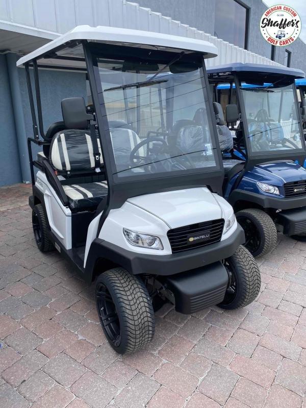 2021 Bintelli Beyond White 4pr Golf Cart
