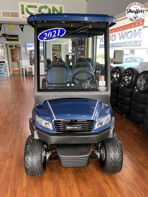 2021 CUSTOM Bintelli Beyond Navy Blue 4pr Golf Cart