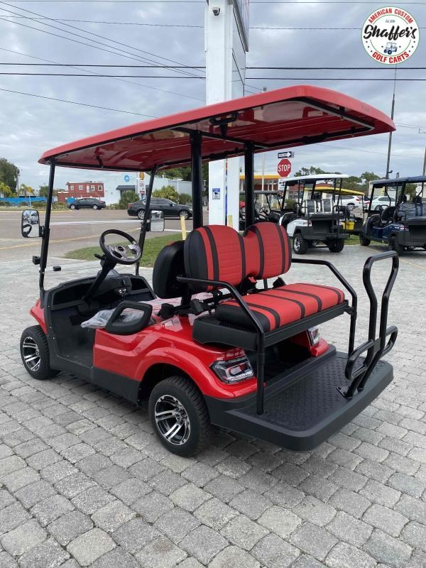 2021 RED ICON i40 4 passenger Golf Cart