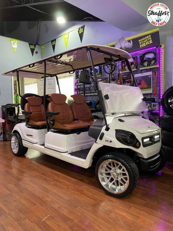 2021 PILOT CAR PC4  6 Passenger Street Ready Golf Cart Golf Cart