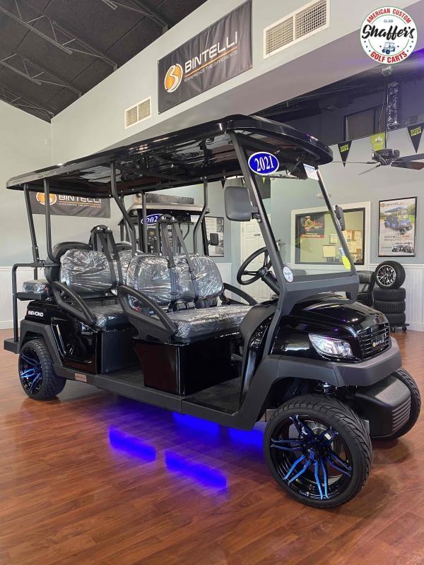 2021 CUSTOM Bintelli Beyond Black 6pr Golf Cart