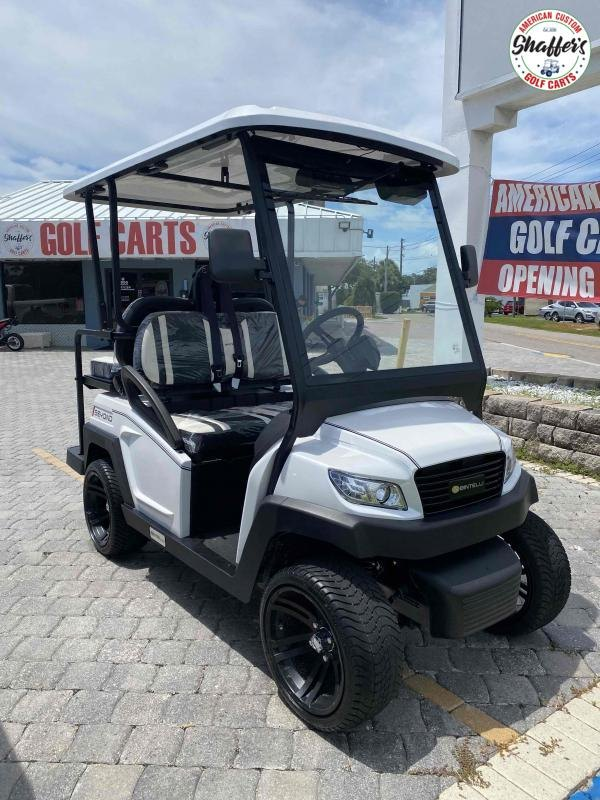 2021 Bintelli Beyond White 4pr Golf Cart