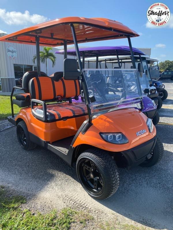 2020 ICON i40 4 passenger Golf Cart w Custom Wheels