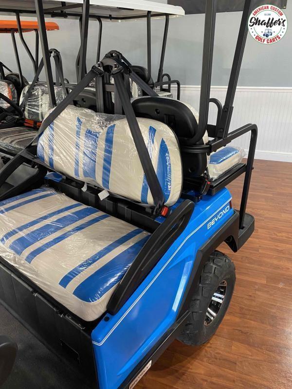 2021 Bintelli Beyond Ocean Blue LIFTED 6pr LSV Golf Cart