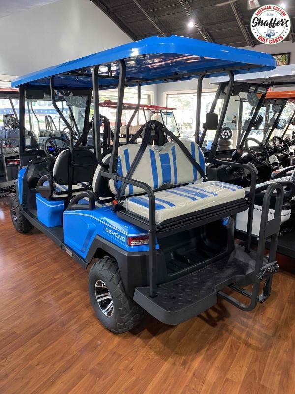 2021 Bintelli Beyond Ocean Blue LIFTED 6pr LSV Golf Cart
