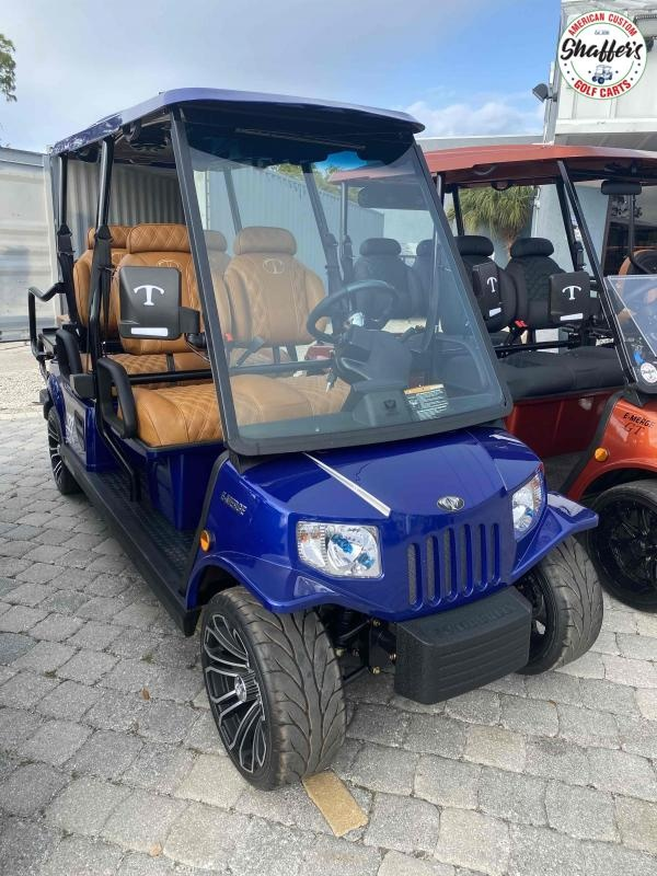 2021 Tomberlin E-Merge E4 SS Saloon 6 passenger LSV Golf Cart