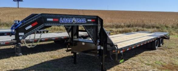 "Load Trail 102"" x 30' Tandem Low-Pro Gooseneck Trailer"