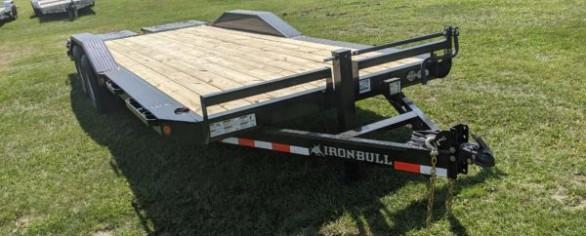 """Iron Bull 102"""" x 22' Equipment Hauler"""