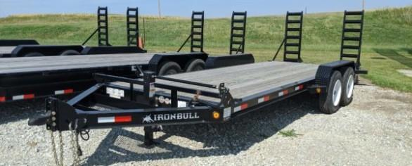 "Iron Bull 83"" x 20' Equipment Hauler"