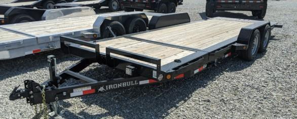 "Iron Bull 83"" x 20' Low-Pro Tilt Equipment Trailer"