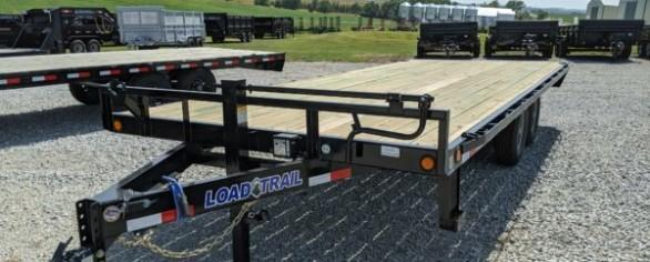 "Load Trail 102"" x 20' Deckover Trailer"