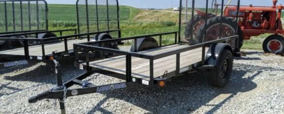 "Load Trail 66"" x 10' Single Axle Utility Trailer"