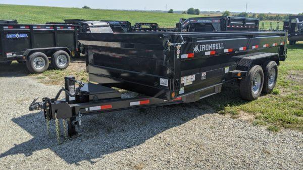 "Iron Bull 83"" x 16' Dump Trailer"