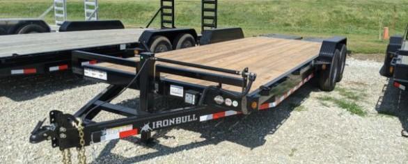 """Iron Bull 83"""" x 22' Equipment Hauler"""