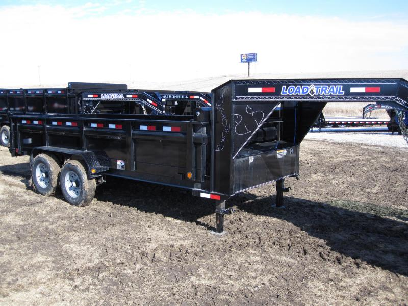 "Load Trail 83"" x 16' Gooseneck Dump Trailer"