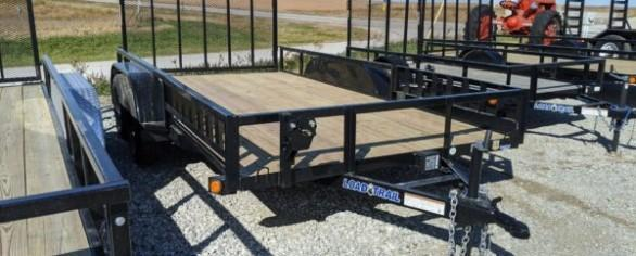 "Load Trail 83"" x 14' Tandem Axle Utility Trailer"