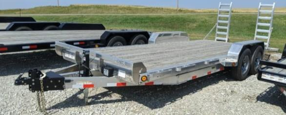 "Iron Bull 83"" x 20' Aluminum Equipment Hauler"