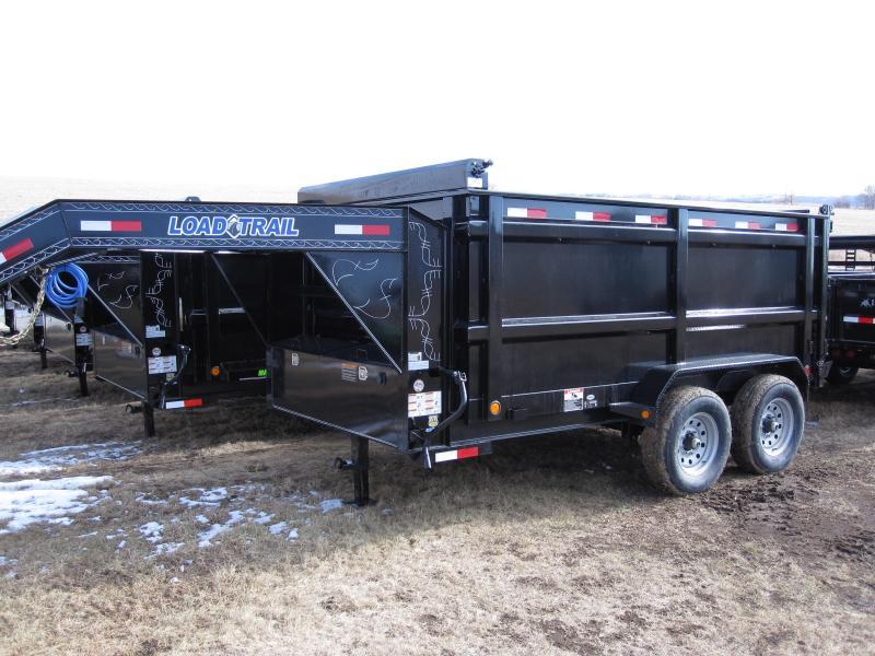 "Load Trail 83"" x 12' Tandem Axle Gooseneck Dump"
