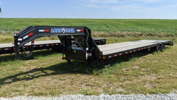 "Load Trail 102"" x 40' Tandem Low-Pro Gooseneck Trailer"