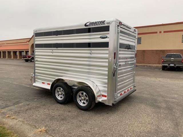2021 Cimarron Trailers 2H ST/COMBO BP Livestock Trailer
