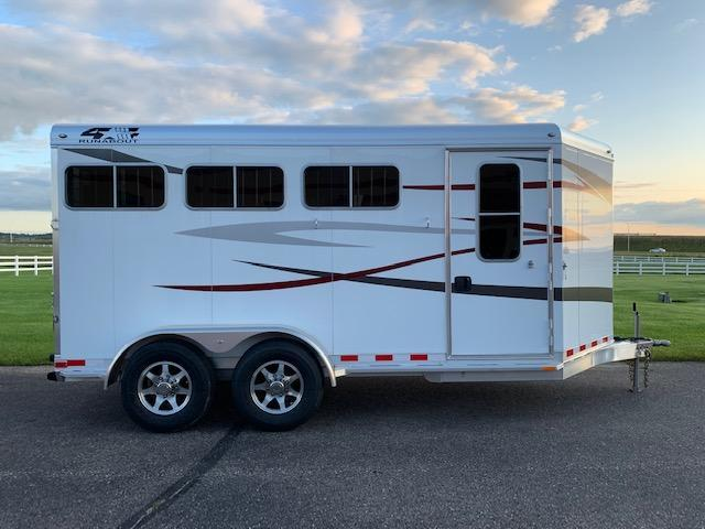 4-Star 2020 3H BP Horse Trailer