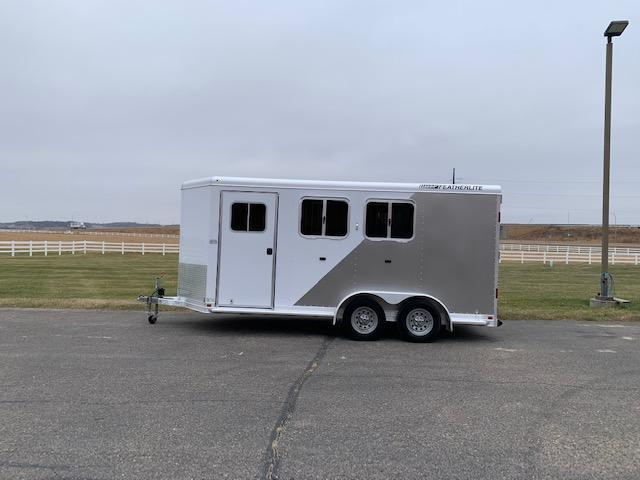 2014 Featherlite 2H BP Horse Trailer