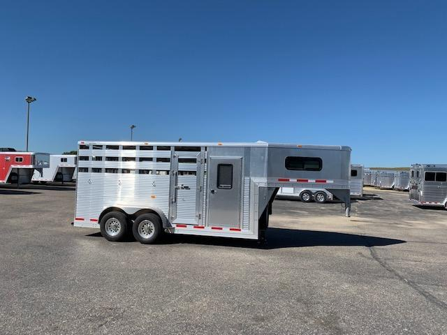 Chaparral 2016 16' St/Combo Livestock Trailer