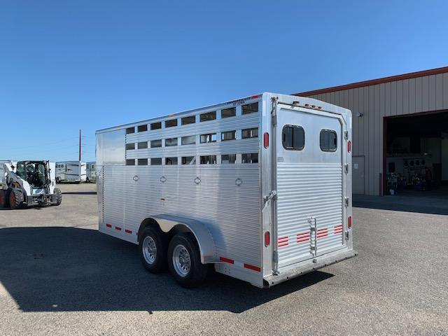 2016 Chaparral 16' St/Combo Livestock Trailer