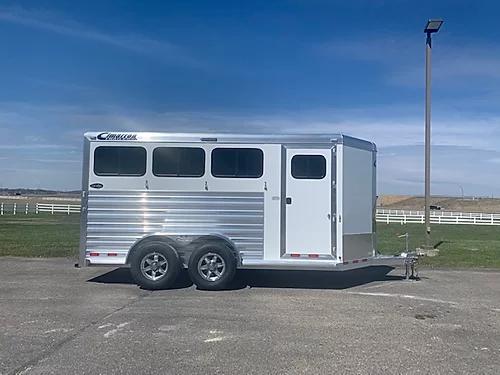 2020 Cimarron 3H BP Horse Trailer