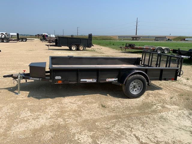 Diamond C 2020 PSA135L12X77 Flatbed Trailer BP