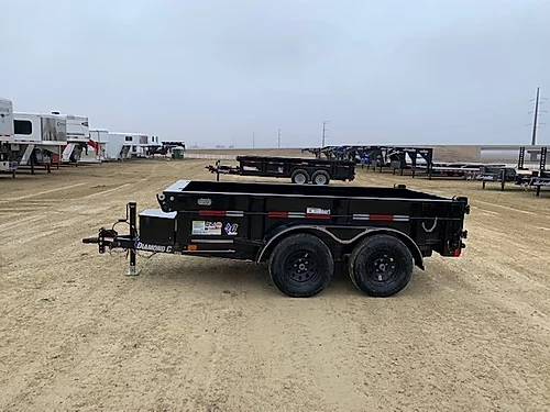 2019 Diamond C 60 x 10 Flatbed Dump Trailer