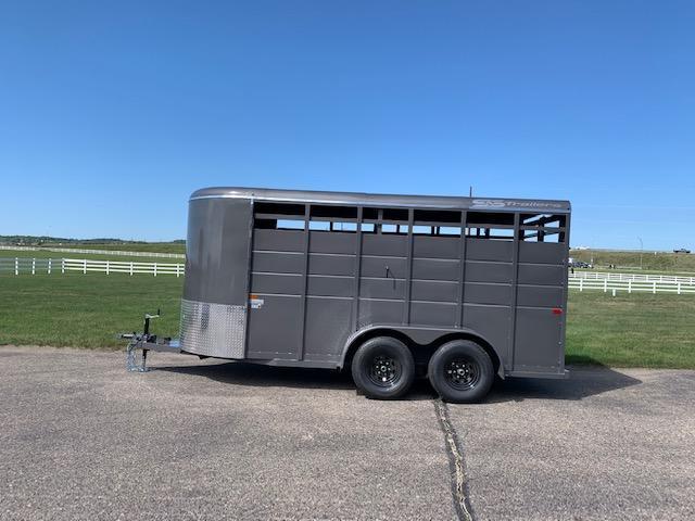 2022 S&S Manufacturing 16' Livestock Trailer