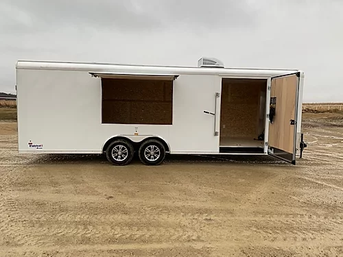 US Cargo 2020 8.5x24 10K Enclosed Concession Trailer