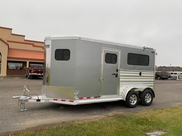2021 Cimarron Trailers 2H BP Horse Trailer